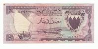 BAHRAIN 1/2 DINAR 1964 VF+ P 3 - Bahrein