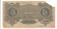 Poland 10000 10,000 Marek 1922 VG P 32 - Polen