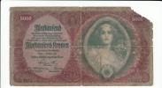 Austria 5000 Kronen 1922 G-VG P 79 - Austria