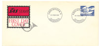 Denmark FDC 24-2-1961 SAS 10 Years Anniveersary With Cachet - FDC
