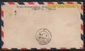AIR MAIL 19 -01- 1948 CALCUTTA  To GILLY (Belgium) - NO STAMPS NO TAX - OBLITERATED BRUSSELS 28-01-1948 ????? INCONNU !! - Inde