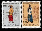 ANGOLA 1957 SCOTT 395-396 MNH VALUE US $ 0.40 - Angola