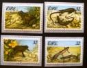 IRLANDE: Grenouilles, Serpents, Reptiles. Yvert: N° 916/19. Neuf Sans Charniere (MNH) - Grenouilles