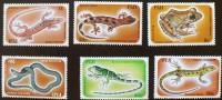 FIDJI: Grenouilles, Serpents, Reptiles. Yvert: N° 518/53. Neuf Sans Charniere (MNH) - Grenouilles