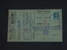 Carte Caisse De Retraite Zwyndrecht Naar Burcht 1926 Lijfrentekas Houyoux (ref 146) - 1922-1927 Houyoux