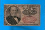 U.S.A.. 25 Cents 1874. pk.123.   TB.BC.FINE+