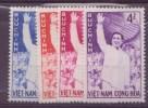 Vietnam Sud N ° 161 à 164 + 165 à 168** Neuf Sans Charniere - Viêt-Nam