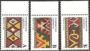 Tagikistan  1996  MNH**  -  Yv. 129A/B/C - Tessili