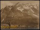 VERS 1930 - SUPERBE VIEILLE PHOTO -  SOMMET DU CALIBIER ANIMEE CEUILLETTE DE NARCISSES ! PHOTO 11 X 15CM - Fotos