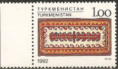 Turkmenistan  1992  MNH**  -  Yv. 9 - Tessili