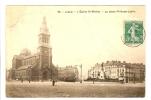 LILLE - NORD - L'EGLISE SAINT MICHEL - LA PLACE PHILIPPE LEBON - Lille