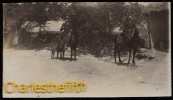 1908 SUPERB OLD PHOTO CARD * CUAUTLA - MORELOS - MEXICO * 2 Europeans On Their Way To The SULFUR WATER - Mexique