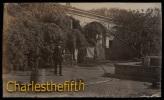 1908 !! SUPERB OLD PHOTO CARD * MEXICO * INTERIEUR CASA  à CUAUTLA - Mexique