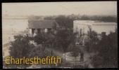 1919 !! SUPERB OLD PHOTO CARD * MEXICO * PUENTE DE IXTLA ( Morelos ) - VIEW ON THE SQUARE TAKEN FROM HOTEL OLEA - Mexique