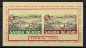 SANDA ISLAND 1965 EUROPA CEPT  MNH MS - 1965