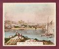 IMAGE CIGARETTE - GUERNSEY ALDERNEY & SARK - Past & Present - St Peter Port From Castle Cornet, Guernsey - Autres