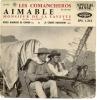 """45 Tours EP - AIMABLE - VOGUE 1313  -   """"  LES COMMANCHEROS """" + 3 ( John WAYNE Du Film """" LES COMMANCHEROS """" ) - Vinyles"""