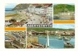 Cp, Pays De Galles, Abeystwyth, Multi-Vues, écrite - Pays De Galles