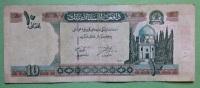 2 Geldscheine Banknoten Afghanistan 5 Und 10 Afgahnis Papermoney. - Afghanistan