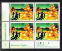 Canada MNH Scott #1924 Lower Left Plate Block $1.05 Building A Snowman In The Country - Christmas - Num. Planches & Inscriptions Marge