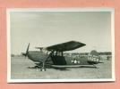 PHOTOGRAPHIE  - AVIATION MILITAIRE  - AVION D' OBSERVATION / U S ARMY - MARQUE A CONFIRMER : PIPER ?? - Luftfahrt