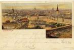 STOCKHOLM   Litho  1900          Old Postcard - Schweden