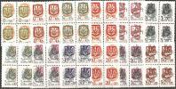 Ucraina  1992  MNH**  -  Yv. 155/165  Bloc 4x - Ucraina
