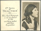BAT BRITISH AMERICAN TOBACCO CIGARETTE CARD 1926 - 2ND SERIES BEAUTIES FAMOUS MOVIE STAR LILA LEE -CARD NO (8) - Cigarette Cards