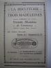 - Pub - Publicité - Biscuiterie Des Trois Madeleines - Madeleine De Commercy - 1923 - - Publicités