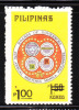 Philippines 1982 Surcharged 1p On 1.50p MNH - Filippine