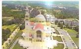 59116)cartolina Illustratoria Panorama Aereo Chiesa Immacolata Concezione A W. D.c. - Vancouver