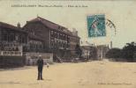 CPA - 54 - CONFLANS-JARNY (Meurthe Et Moselle) - Place De La Gare Ed Ctoirs Français Hôtel BAUCHOT Belle Carte Couleur - France