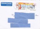 [ETN1] Lettre France Olympics Jeux Olympiques Vancouver 2010 Se-tenant - Invierno 2010: Vancouver