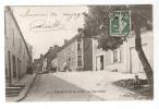 """CPA - 91 - Essonne - Méréville : La Rue Carnot : Animation , Batiment """" Maréchalerie"""" - Mereville"""