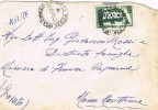 Carta CAGLIARI Ferrovia (Italia) 1956 - 6. 1946-.. Repubblica