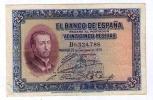 BILLETE DE 25 PESETAS DE 1926 - SAN FRANCISCO JAVIER - EXCELENTE - [ 2] 1931-1936 : Republiek