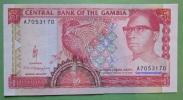 Geldschein Banknote Gambia 1991-95 Five Dalasis  Papermoney. - Gambia