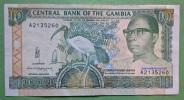 Geldschein Banknote Gambia 1991-95 Ten Dalasis  Papermoney. - Gambia