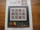 The Prairie Schooler  Holiday Harvest   12 Grilles De Point De Croix Pour Broder Des Fruits - Stickarbeiten