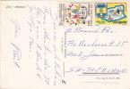 URUGAY : Affranchissement Sur Carte Postale - Uruguay