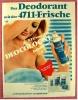 Reklame Werbeanzeige  -  Deo Cologne - Das Deodorant Mit Der 4711-Frische   -  Von 1969 - Reklame