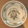 ASSIETTE 1789 LA LIBERTE LA NATION  / IRONSTONE TABLEWARE DISHWASHER DETERGENT PROOF PATENTED DESIGN 4-89 INDERGLAZE - Non Classés