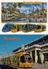 MONTPELLIER (75) TRAMWAY Ligne 1 à 4 LOT DE 2 CPM - Tramways