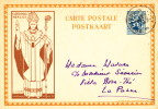 489/19 -  Entier Carte Illustrée Mercier OOSTENDE 1933 Vers LA PANNE - Illustrat. Cards