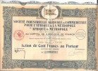 Société Industrielle & Commerciale Pour L´ AFRIQUE & La METROPOLE - Capital 4.000.000 - Afrique