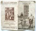 ALMANACH AGENDA 1938 DU BONHOMME EBRA BRABANTS CHARRUE TRACTEUR ETS BEAUVAIS ROBIN ANGERS MACHINE A TRAIRE HINMAN AMANCO - Autres Accessoires