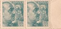 ES1050-B043TV.España Spain.Espagne .General FRANCO Y CID.1048/53. (Ed 1050**par) Sin Clarnela LUJO - Variedades & Curiosidades