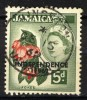 Jamaica 1962, Queen Elizabeth II - Ackee, Overprint: Independence (o), Used, Nice Cancel - Jamaica (1962-...)