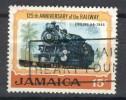 Jamaica 1970, Train - Locomotive - Engine - Railway (o), Used - Jamaica (1962-...)