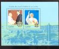 MINT NEVER HINGED MINI SHEET OF POPE JOHN PAUL II   # 088-1  ( CUBA  1995 - Christentum